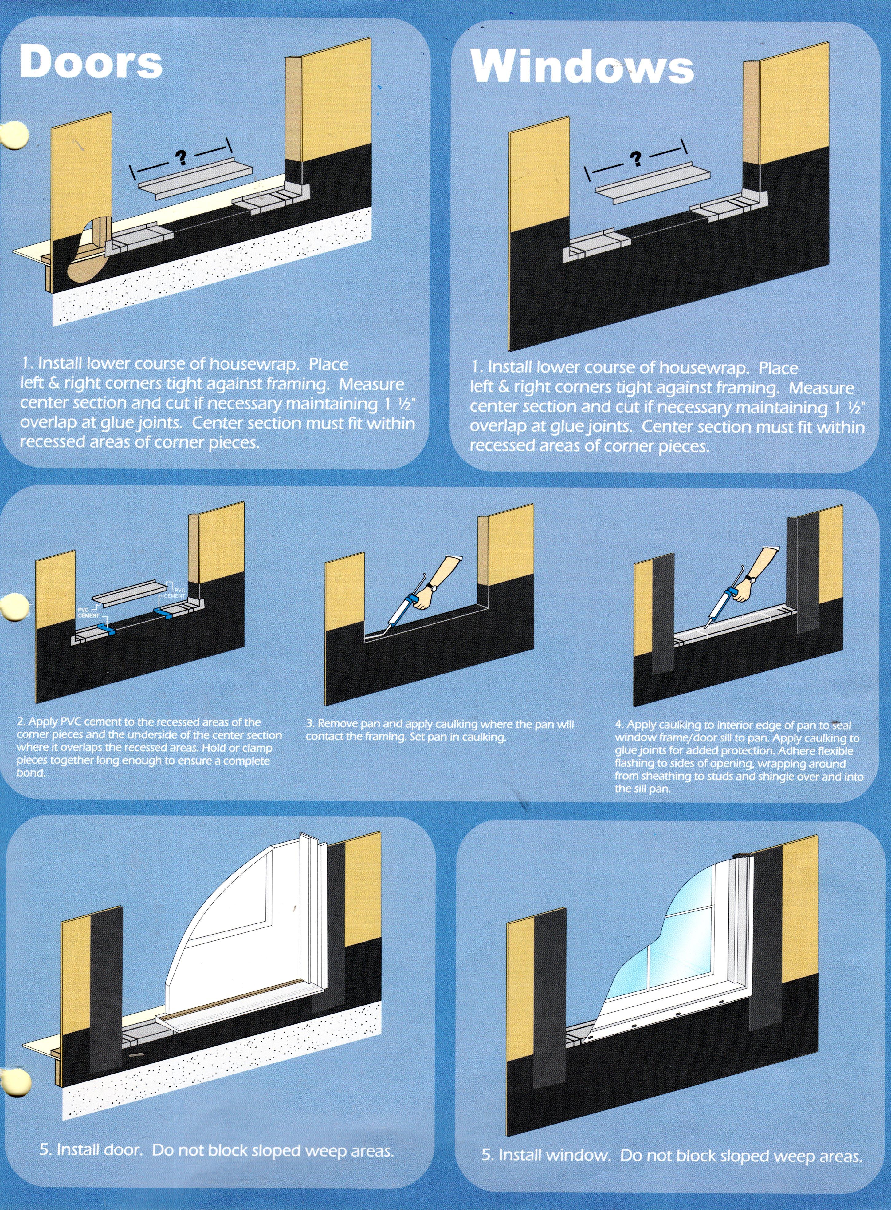 Paned Window Door WrapA Decorating Aluminum